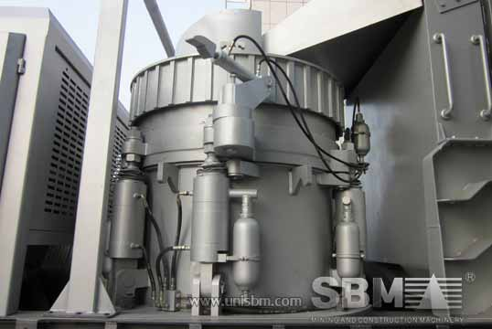 Portable Cone Crusher picture center