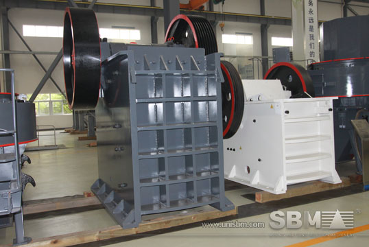 Jaw crusher pictures from SBM