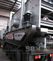 Closed cirsuit crushing plant