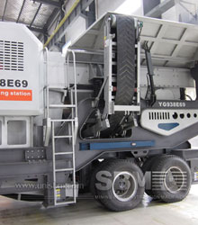 Combined crushing plant