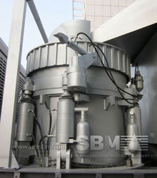 Portable cone crusher