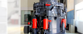 Hydraulic cone crusher picture