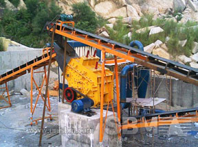 PF impact crusher project