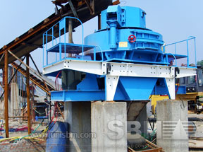 VSI5X crusher project