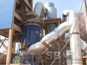 vertical mill for grinding plant