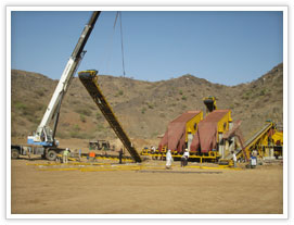 Stone crushing and screening plant for Malaysia quarry project