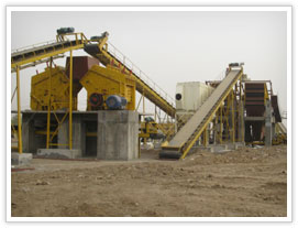 calcium carbonate crushing project