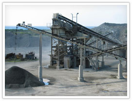 South Africa stone crushing & screening plant