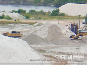 kaolin mining process
