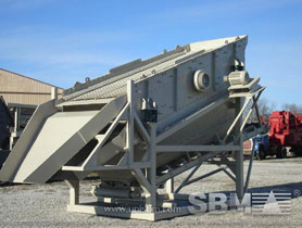screening, washing plant for silica sand