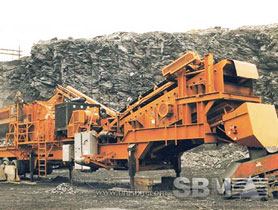 silica sand crushing plant
